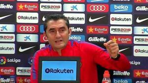 """Valverde: """"Nuestra prioridad es la Liga"""""""