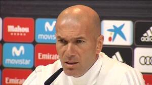 """Zidane: """"Ser entrenador desgasta y más en el Real Madrid"""""""