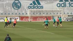 El Real Madrid ya prepara el partido contra el Leganés