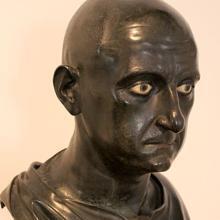 Busto de Escipión el Africano, en el Museo Arqueológico Nacional de Nápoles