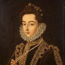 Retrato de Catalina Micaela, por Alonso Sánchez Coello