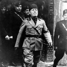 Mussolini, en una imagen de 1926
