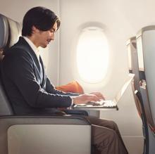 Espacio entre los asientos en este Airbus A350-900 ULR